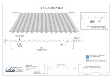 ExcelClad Corrugated 14/3